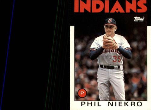 Photo of 1986 Topps Traded #77T Phil Niekro