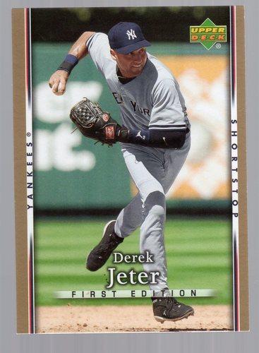 Photo of 2007 Upper Deck First Edition #118 Derek Jeter