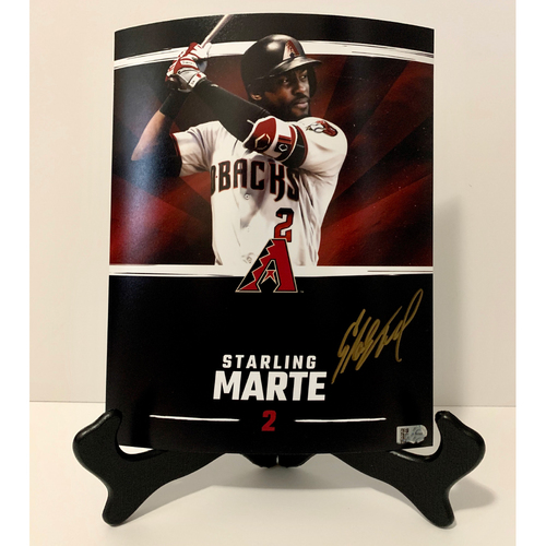 Photo of Starling Marte Autographed 8x10 Photo