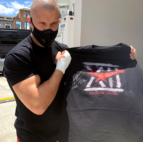 "Photo of Karrion Kross SIGNED ""XII"" Authentic T-Shirt"