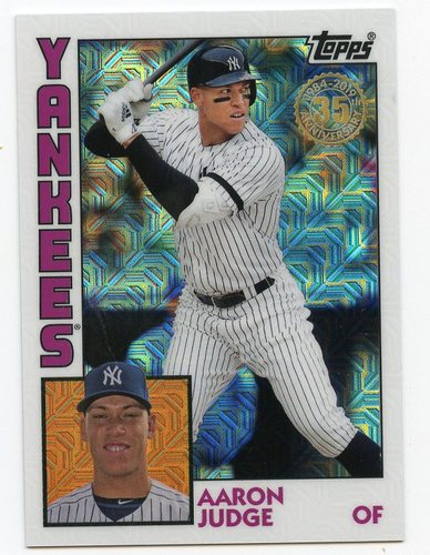 Photo of 2019 Topps Update '84 Topps Silver Pack Chrome #T84U29 Aaron Judge