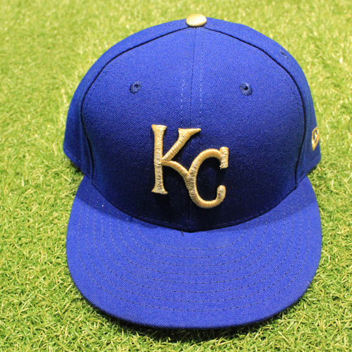 Photo of Game-Used 2020 Gold Hat: Cam Gallagher #36 (Size 7 1/2 - DET @ KC 9/25/20)
