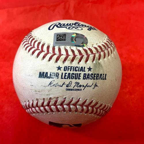 Jacob deGrom Game-Used RBI Single vs. Merrill Kelly - Mets @ D-backs 5/31/2021