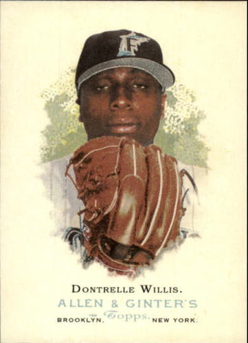 Photo of 2006 Topps Allen and Ginter #162 Dontrelle Willis