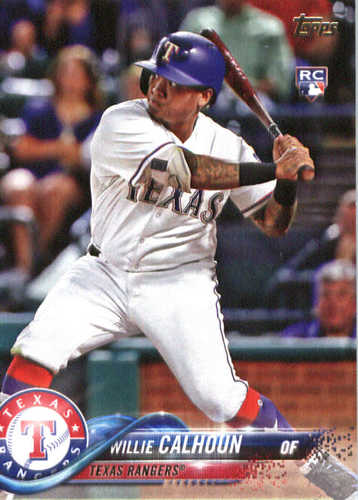 Photo of 2018 Topps #245 Willie Calhoun RC