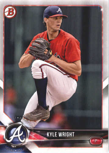 Photo of 2018 Bowman Prospects #BP14 Kyle Wright