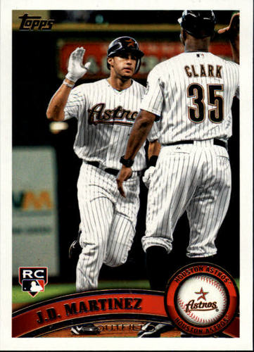 Photo of 2011 Topps Update #US186 J.D. Martinez Rookie Card