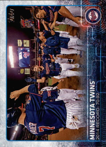 Photo of 2015 Topps #504 Minnesota Twins