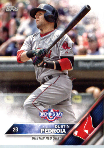 Photo of 2016 Topps Opening Day #OD139 Dustin Pedroia