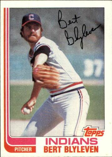 Photo of 1982 Topps #685 Bert Blyleven