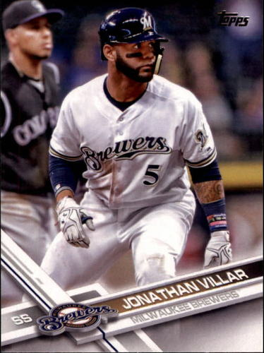 Photo of 2017 Topps #151 Jonathan Villar