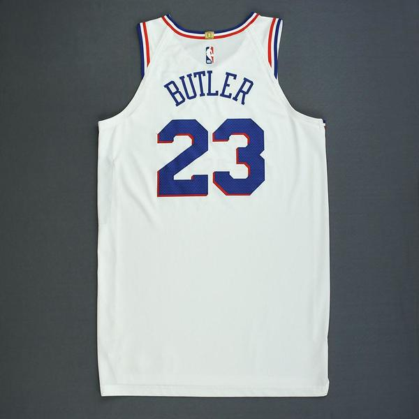 2817f6bb5 Jimmy Butler - Philadelphia 76ers - Christmas Day  18 - Game-Worn ...
