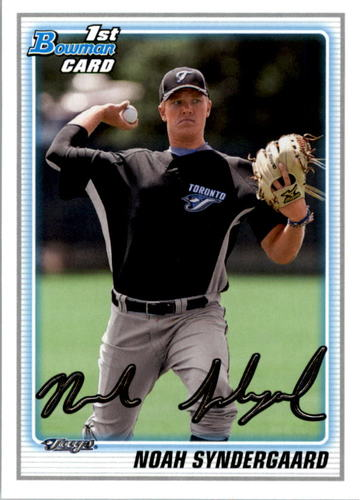 Photo of 2010 Bowman Draft Prospects #BDPP75 Noah Syndergaard Pre-Rookie Card