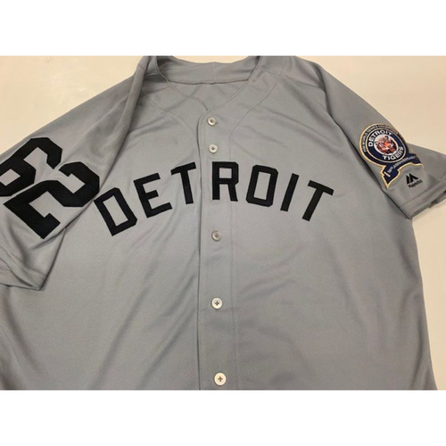 Game-Used 1968 50th Anniversary Jersey: Sandy Baez
