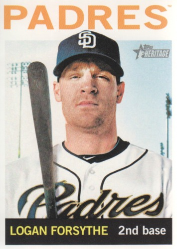 Photo of 2013 Topps Heritage #424 Logan Forsythe