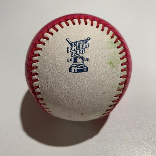 Photo of 2018  - HR Derby Baseball - Batter: Kyle Schwarber - Finals (Bonus Ball) (Out)