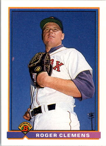 Photo of 1991 Bowman #118 Roger Clemens