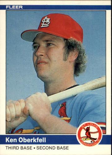Photo of 1984 Fleer #330 Ken Oberkfell