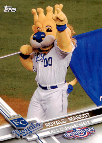 Photo of 2017 Topps Opening Day Mascots #M10 Royals Mascot