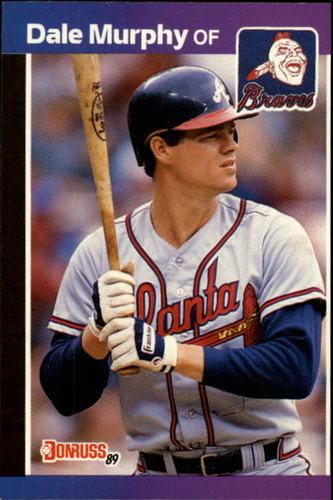 Photo of 1989 Donruss #104 Dale Murphy