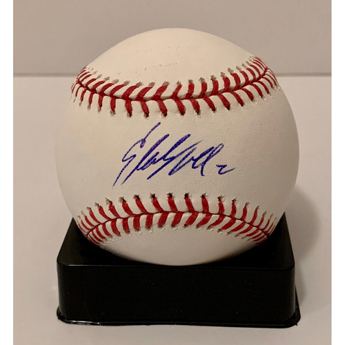 Photo of Starling Marte Autographed Ball