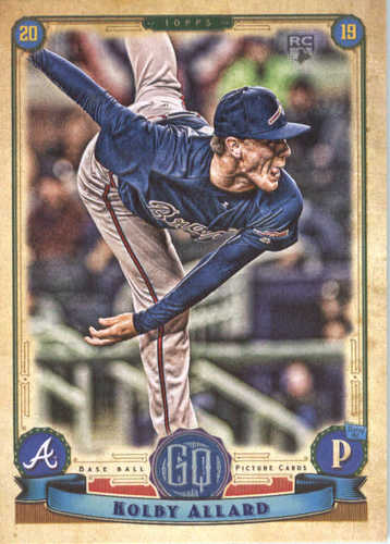 Photo of 2019 Topps Gypsy Queen #25 Kolby Allard RC