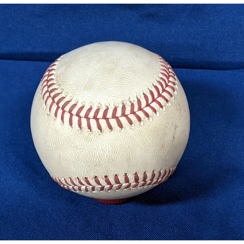 Photo of 2020 Game Used Baseball: Pitcher: Tyler Anderson, Batter: Cody Bellinger - Walk - Bot 1 - 7-24-2020 vs. SF