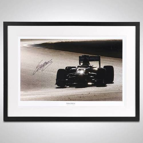 Photo of Esteban Gutierrez Limited Edition Signed & Framed Photo - Sauber F1® Team Edi...