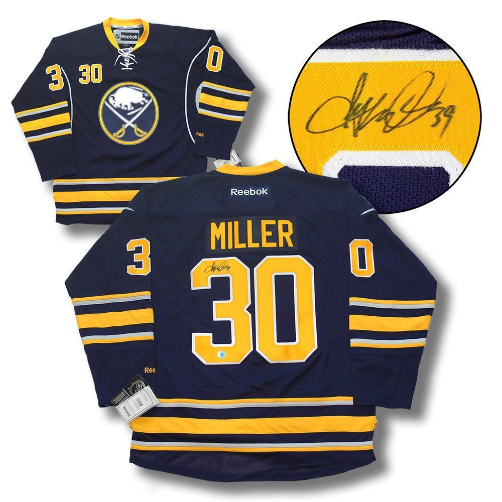 Ryan Miller Buffalo Sabres Autographed Reebok Jersey
