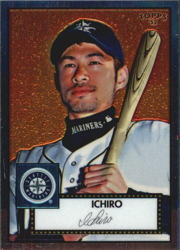 Photo of 2006 Topps 52 Debut Flashbacks Chrome #DF4 Ichiro Suzuki