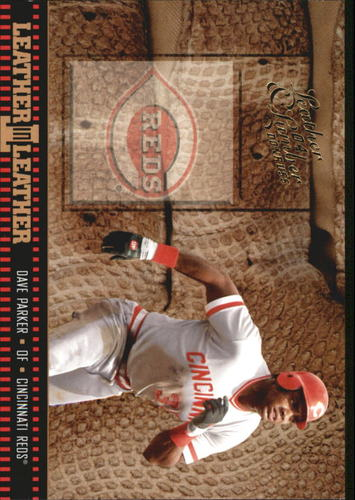 Photo of 2004 Leather and Lumber Leather in Leather #11 Dave Parker BG