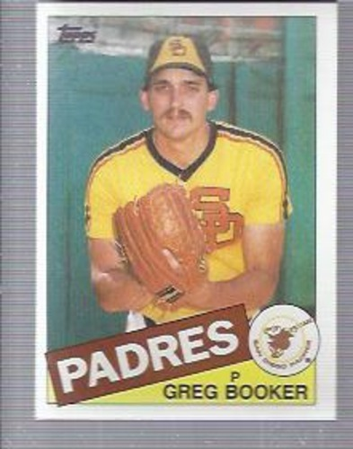 Photo of 1985 Topps #262 Greg Booker