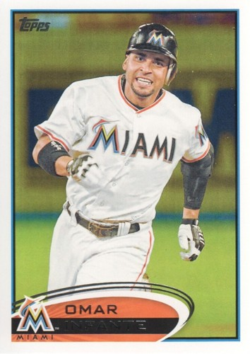 Photo of 2012 Topps #456 Omar Infante