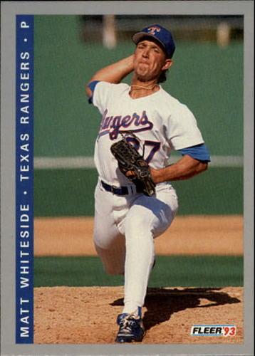 Photo of 1993 Fleer Final Edition #285 Matt Whiteside RC