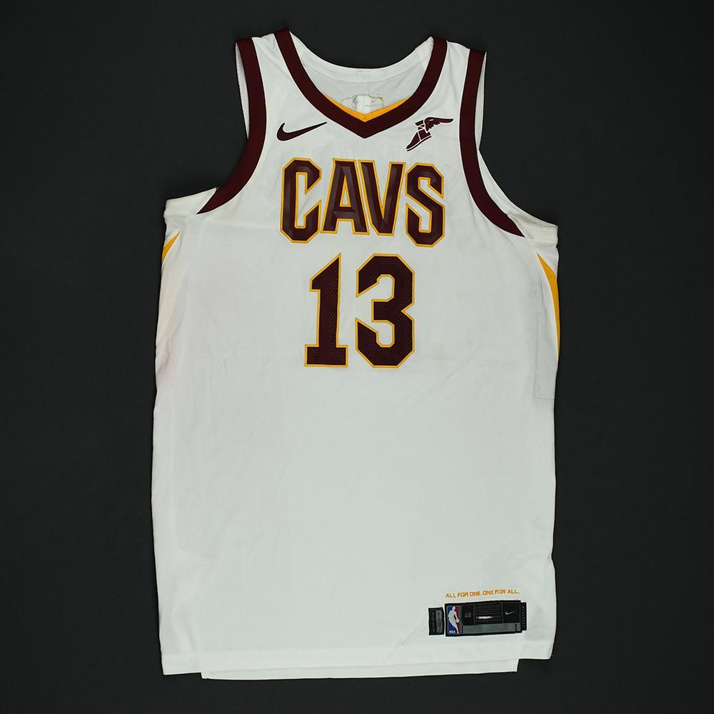 Tristan Thompson - Cleveland Cavaliers - 2018 NBA Finals - Game 2 - Game-Worn White Jersey
