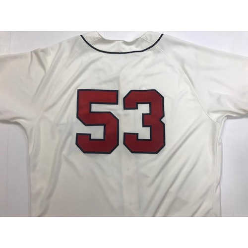 Photo of Game-Used Detroit Stars Jersey: Warwick Saupold