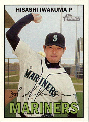 Photo of 2016 Topps Heritage #115 Hisashi Iwakuma