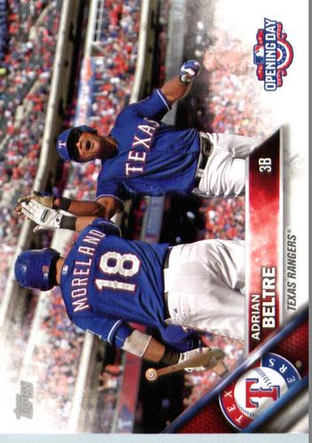 Photo of 2016 Topps Opening Day #OD144 Adrian Beltre