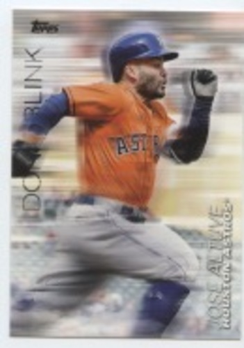 Photo of 2018 Topps Update Don't Blink #DB10 Jose Altuve