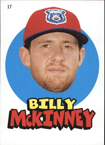 Photo of 2016 Topps Heritage Minors '67 Topps Stickers #17 Billy McKinney
