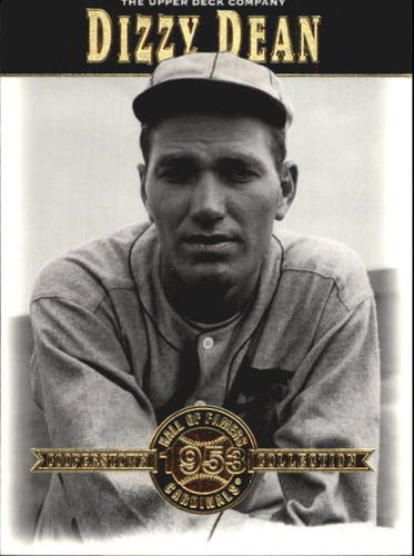 Photo of 2001 Upper Deck Hall of Famers #7 Dizzy Dean