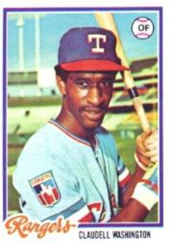 Photo of 1978 Topps #67 Claudell Washington