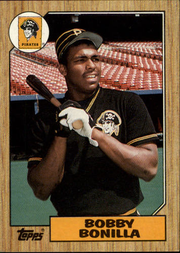 Photo of 1987 Topps #184 Bobby Bonilla RC