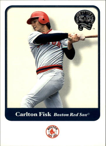 Photo of 2001 Greats of the Game #110 Carlton Fisk