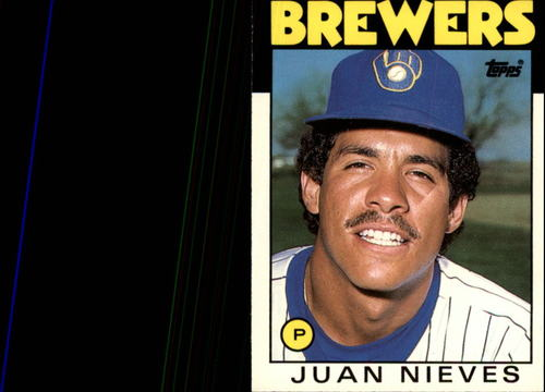 Photo of 1986 Topps Traded #79T Juan Nieves