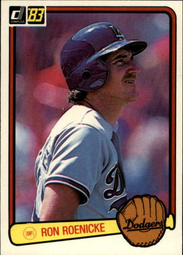 Photo of 1983 Donruss #327 Ron Roenicke