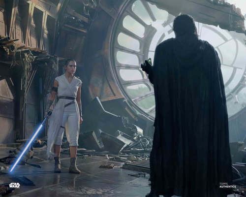 Rey and Kylo Ren