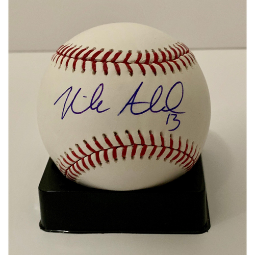 Photo of Nick Ahmed Autographed Ball