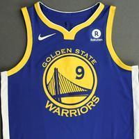Andre Iguodala - Golden State Warriors - NBA China Games - Game-Worn Icon Edition Jersey - 2017-18 NBA Season
