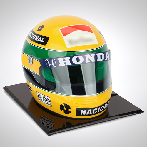 Photo of Ayrton Senna 1990 1:1 Replica Helmet